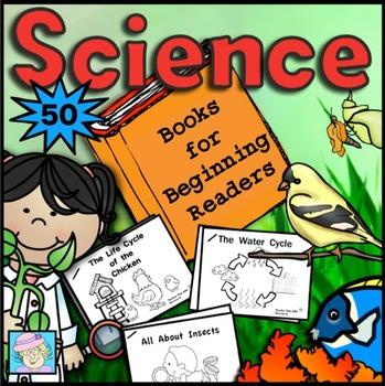 Science Books for Beginning Readers (50 books)