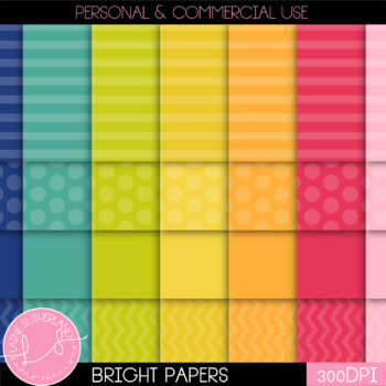 28 Bright Digital Papers