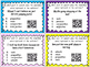 28 Parts of Speech QR Code Task Cards, Anchor Chart, Gameboard