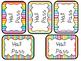28 Printable Bright Rainbow Colors Hall Passes. Classroom