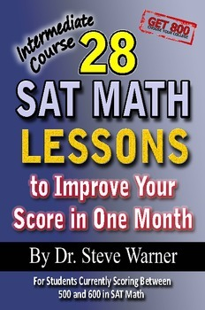 28 SAT Math Lessons - Intermediate Course (old SAT)