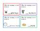 28 Task Cards 7pg Set Write Vowel Letters A E I O U Writin