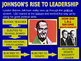 28 - The Johnson Years - PowerPoint Notes