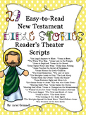 "29 ""Easy-to-Read"" New Testament Bible Story Reader's Theat"