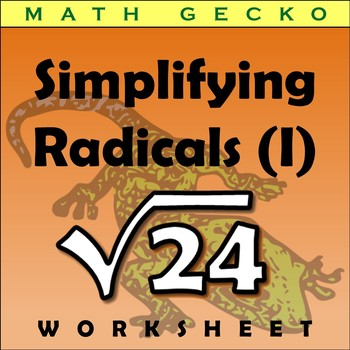 #295 - Simplifying Radicals (I) Riddle