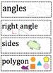 2D & 3D Shape Words (Visual)