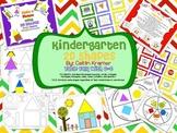 Shape Unit: 2D and 3D {Kindergarten Geometry}