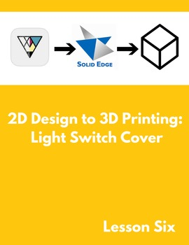 2D Design to 3D Printing: Light Switch Cover