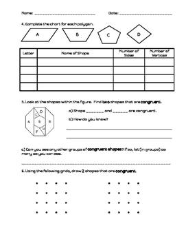 2D Figures Assessment
