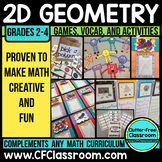 GEOMETRY ACTIVITES | POLYGONS | 2D SHAPES | GEOMETRY MATH