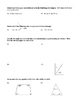 2D Geometry Quiz Review