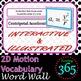 2D Motion Vocabulary Unit Bundle
