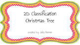 2D Object Classification Christmas Tree