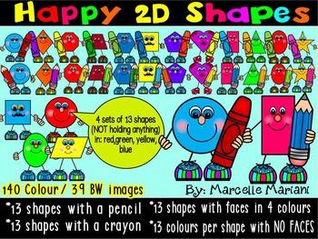 2D SHAPES CLIPART