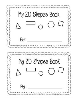 2D Shape Activity {Mini Book}