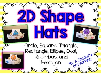 2D Shape Hats!