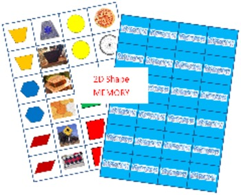 2D Shape Memory