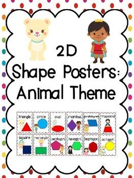 2D Shape Posters: Fairy Tale Theme