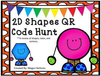 2D Shape QR Codes