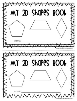 2D Shapes Book