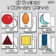 "2D Shapes ""Four Corners"" Game"