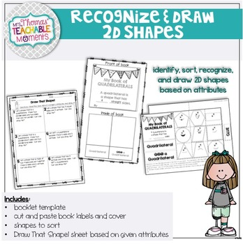 2D Shapes Recognize and Draw