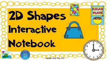 2D Shapes Virginia SOL's 1.12 & 1.13 Interactive Notebook