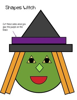 2D Shapes Witch