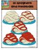 2D Spaghetti and Meatballs {P4 Clips Trioriginals Digital