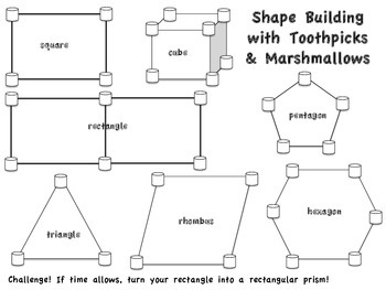 It's just a graphic of Universal Building With Toothpicks and Marshmallows Printable