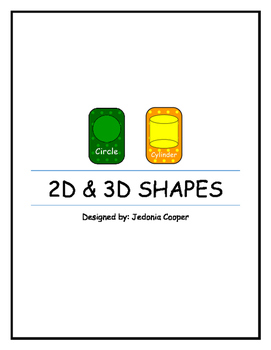 2D and 3D Shape posters.