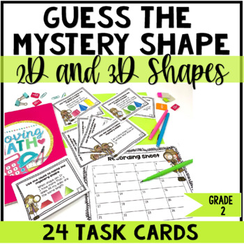 2D and 3D Shapes Riddles