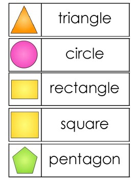 2D and 3D Shapes