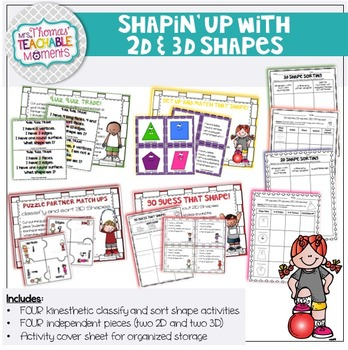 2D and 3D Shapes Attributes - Shapin' Up!