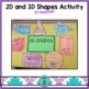 2D and 3D Shapes Freebie