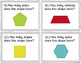 2D and 3D Shapes Task Cards {2.G.1}