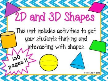 2D and 3D Shapes Unit