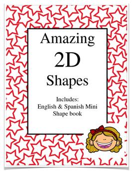 2D shapes English and Spanish- Dual Language