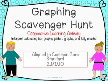 2.MD.10 {Cooperative Learning} Graphing Scavenger Hunt (Ma