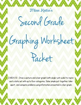 2.MD.4.10 Graphing Worksheet Packet