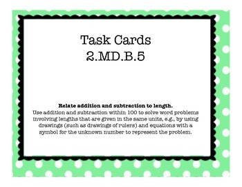 2.MD.B.5 Task Cards