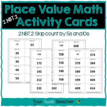 2NBT2 Skip Count by 5s, 10s Center Activities