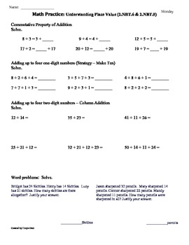 All Worksheets » 5 Nbt 4 Worksheets - Free Printable Worksheets ...