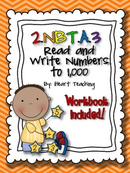 Read and Write Numbers to 1,000 2.NBT.A.3 {Common Core Bun