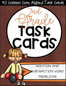 2OA Task Card Bundle - Includes 2.OA.A.1 and 2.OA.B.2