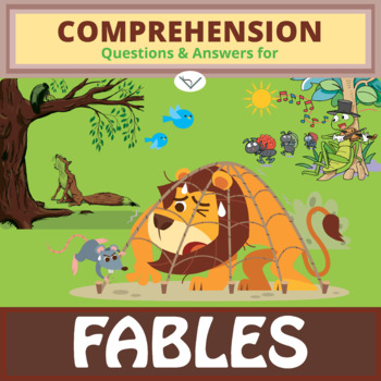 2SL - Fables and Folklore - FREE Comprehension Questions a