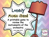 Lonely Music Stand: An Instruments of the Orchestra Game
