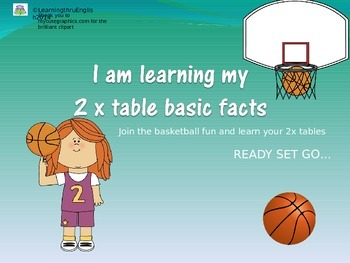 TWO TIMES TABLES POWERPOINT SLIDE SHOW