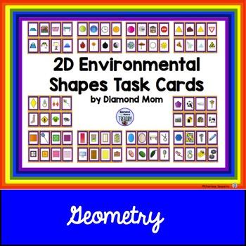 2D Environmental Shapes Task Cards