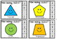 2d shapes clip cards
